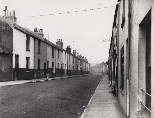 Elder Street   Image reproduced with permission from Brighton History Centre