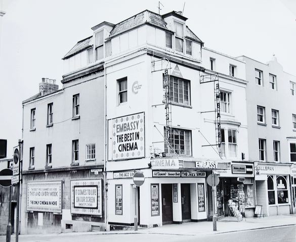 Embassy Cinema, Western Road :undated photograph | Image reproduced with kind permission of The Regency Society and The James Gray Collection