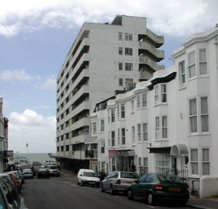 Embassy Court viewed from Western Street | Sent to the website via the contribution form by Trevor Chepstow on 14-07-04