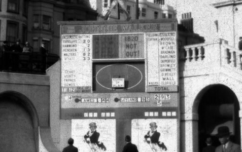 Test Match Scoreboard c1934