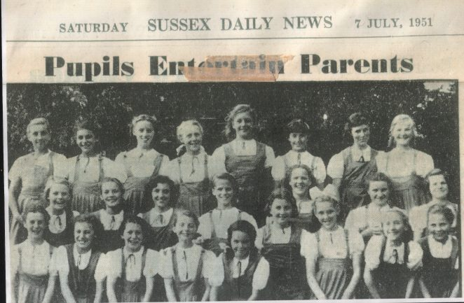 Sussex daily news 7th July 1951 | From the private collection of Mark Kemp