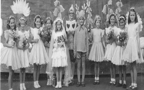 Class 1A: Fairy Wedding c1951