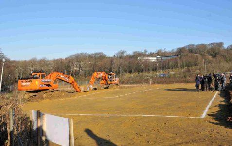 Work begins on new stadium