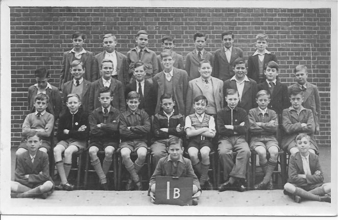 Class photo 1B 1951/2 | From the private collection of  Pat Salmon