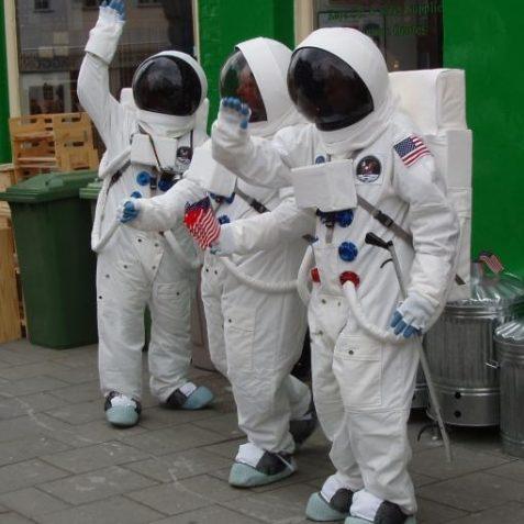 Astronauts? | Photo by Tony Mould
