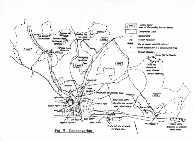 Map of Conservation areas