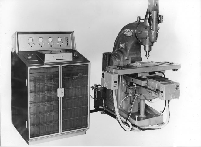 The First NC Machine Tool Manufactured in Europe 1956 | From the private collection of Peter Groves