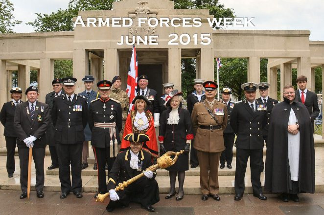 Armed Forces Week: ©Tony Mould images copyright protected