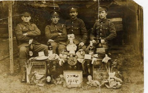 1914: Frank Romaine and Christmas in the trenches