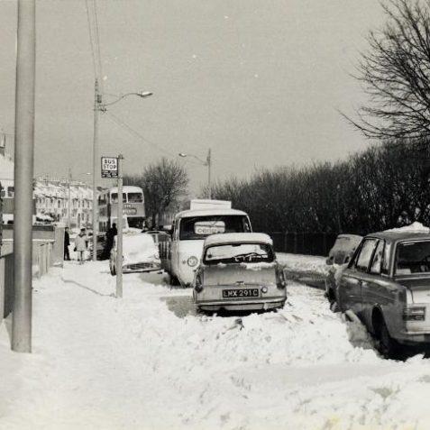 Bottom of Freshfield Road in the 1960's | Photo by John Leach