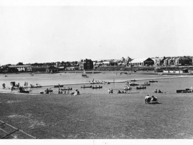 Hove Lagoon undated photograph | From the personal collection of  Michael Clark