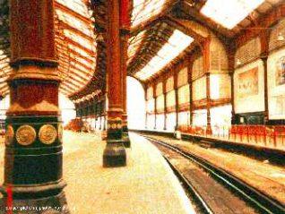The original platform | Photo by Farid Ullah