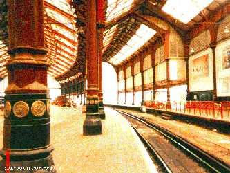 Photo of the original platform