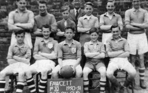 1st XI Football Team 1950/51