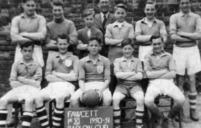 Fawcett School 1st XI 1950/51 | From the private collection of Terry Jackson