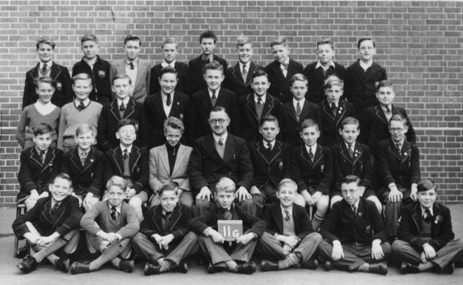 Class photograph 1955/56 | From the personal collection of Peter Butcher