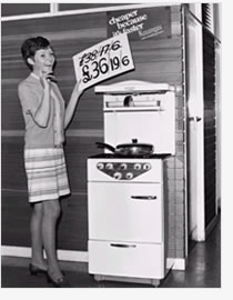 1950s gas cooker | From a private collection