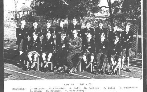 Class photo c1961-62