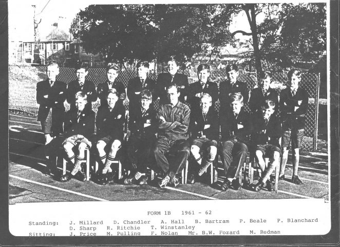 Class photo c1961 | From the private collection of Vic Voice