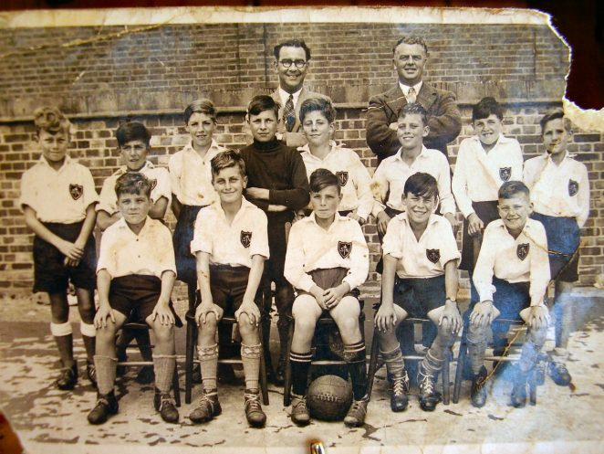 St Nicolas Junior School football team 1949/50 | From the personal collection of Frank Piner