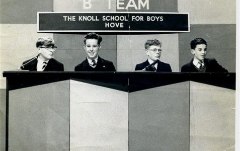 Knoll School for Boys quiz team c1959