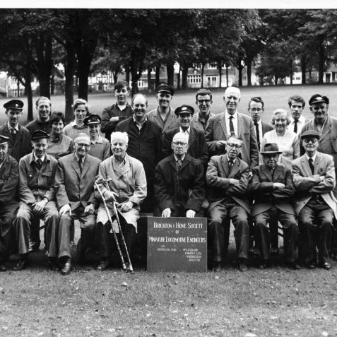 A group photo of B&HSMLE members in about 1962 | B&HSMLE Archive