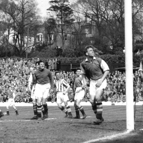 Brighton and Hove Albion in action in the 1950s   Bob Herrick