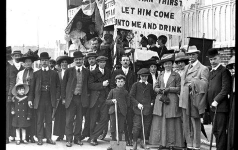 Temperance march in Brighton?