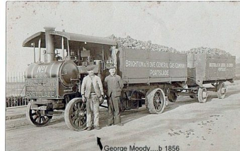 Can you identify this steam lorry?