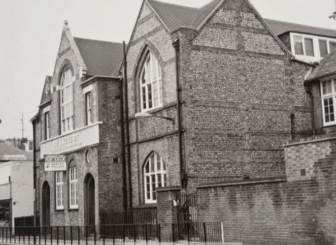 St Andrew's School, George Street | Image reproduced with kind permission of The Regency Society and The James Gray Collection