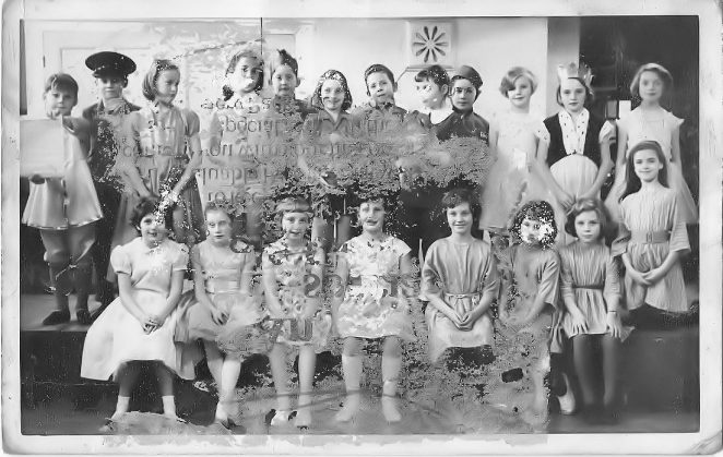 Goldstone Junior School play c1963: click on the photograph to open a large version in a new window. | From the private collection of Janet Lade