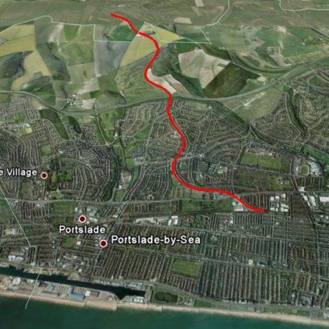 Virtual, Dyke Railway route