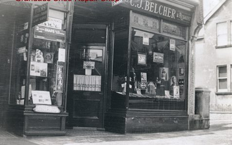 Belcher's shoe-making and repairs shop