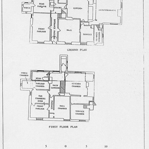 Floor plan of The Grange dated 1993-click for larger image | From the private collection of JG Davies