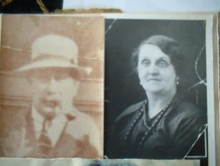 Grandad and Nan Edith Gravett (nee) Willard | Photo supplied by my mum Winnie and her shovel