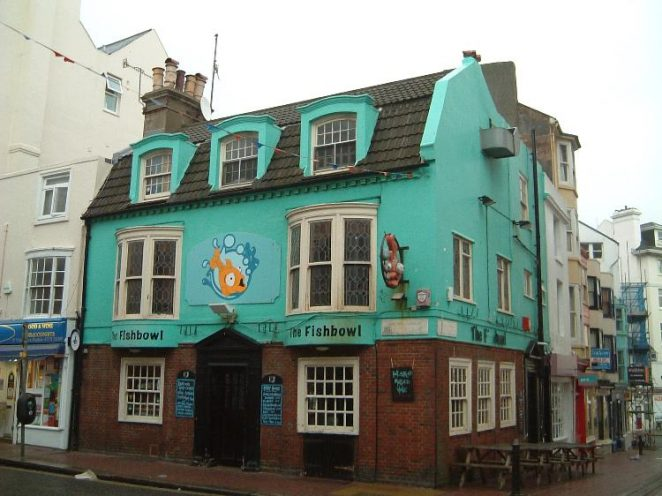 Photograph of The Fish Bowl (formerly The Greyhound), 2004 | Photo by Mike Snewin