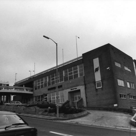 Wade Engineering Hollingbury Brighton c. 1985 | Photo by Hugh Fermer, now in the private collection of Peter Groves
