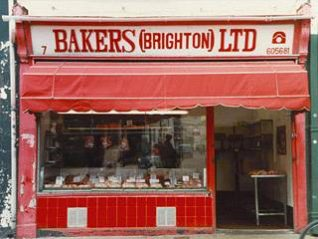 Bakers butchers shop, Sydney Street, Brighton, 1994