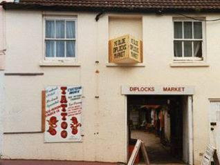 A photo of Diplock's market, 1994