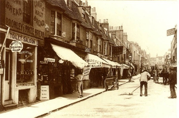 George Street, Brighton, c1910 | Scanned with permission from the private collection of David Burgess