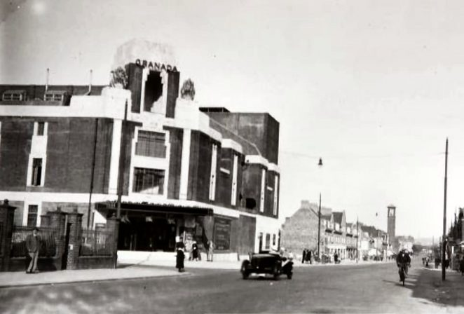 Granada Cinema undated photograph | Image reproduced with kind permission of The Regency Society and The James Gray Collection