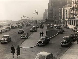 Forecourt of the Grand Hotel