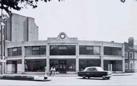 Do you remember this building?