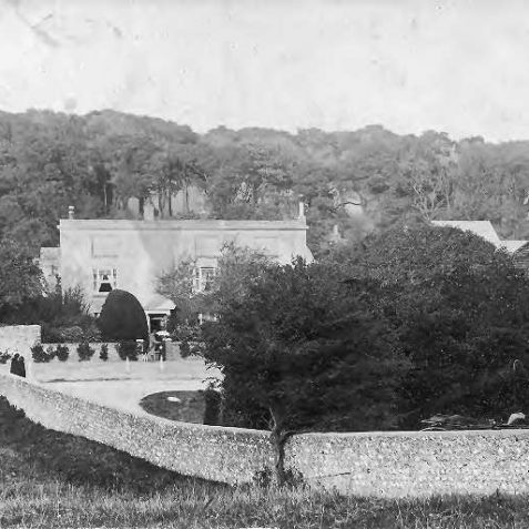 Ovingdean Grange c1900 | From the private collection of Jennifer Drury
