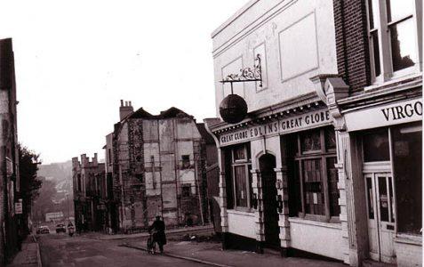 Image of a demolished pub
