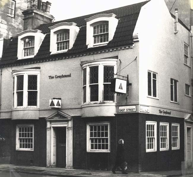 Photograph of The Greyhound | Image reproduced with permission from Brighton History Centre