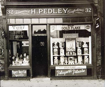 Harry Pedley's shop | From the private collection of David Ransom