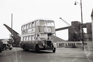 HAP 992 near Shoreham Harbour | From the private collection of Martin Nimmo