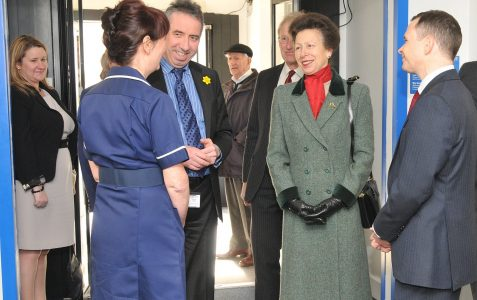 Princess Royal visits Sussex Eye Hospital
