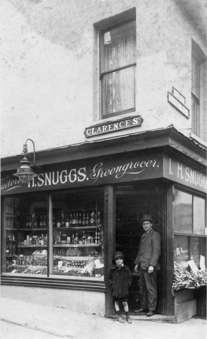 Snuggs Greengrocers: undated photograph | From the private collection of Georgie Snuggs
